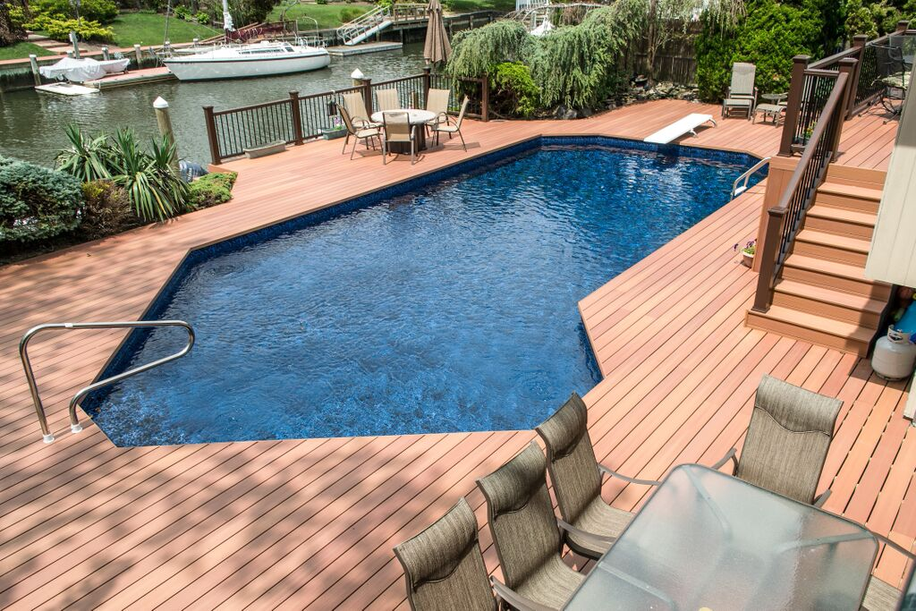 Upgraded Pool and Surround:
