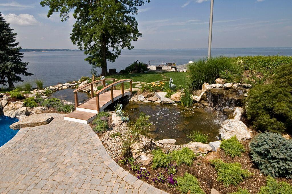 Beautiful Backyard Ponds: