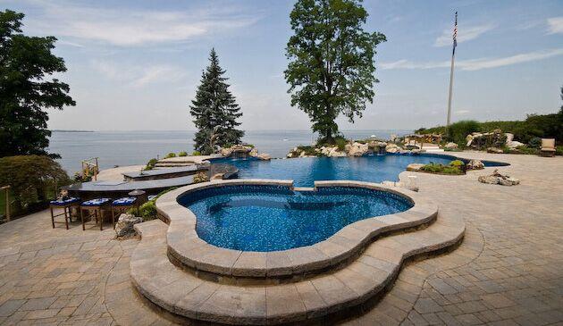 Complete Restort-Style Outdoor Living: