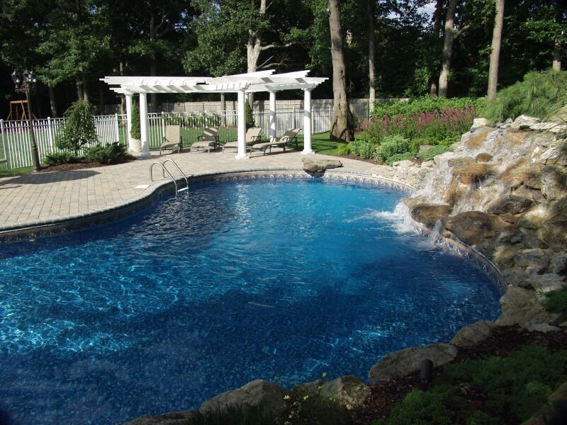 Multi Level Backyard With Pool : Backyard Escapes To Lift Anyone?s Mood