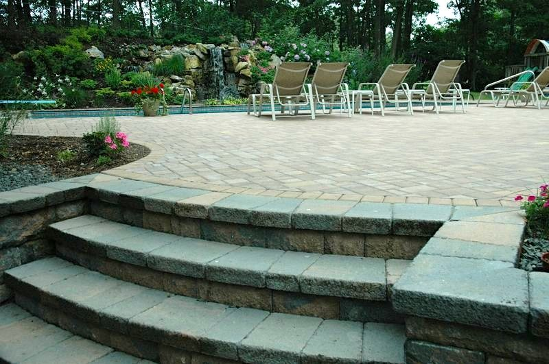Elegant Patio Pavers design/build: