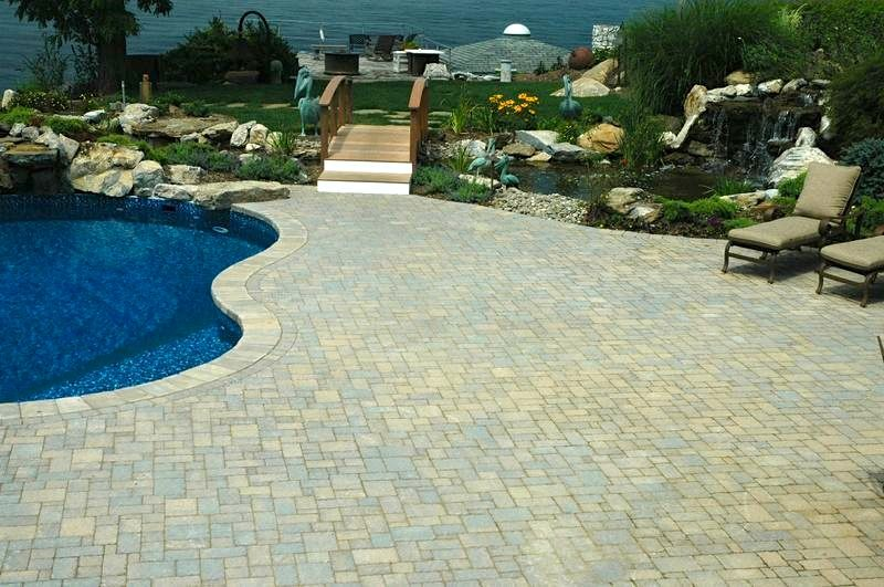 Tumbled Pavers: