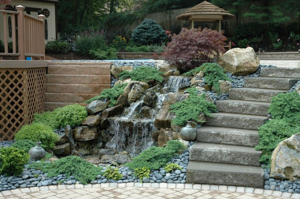 Backyard Pondless Waterfall: