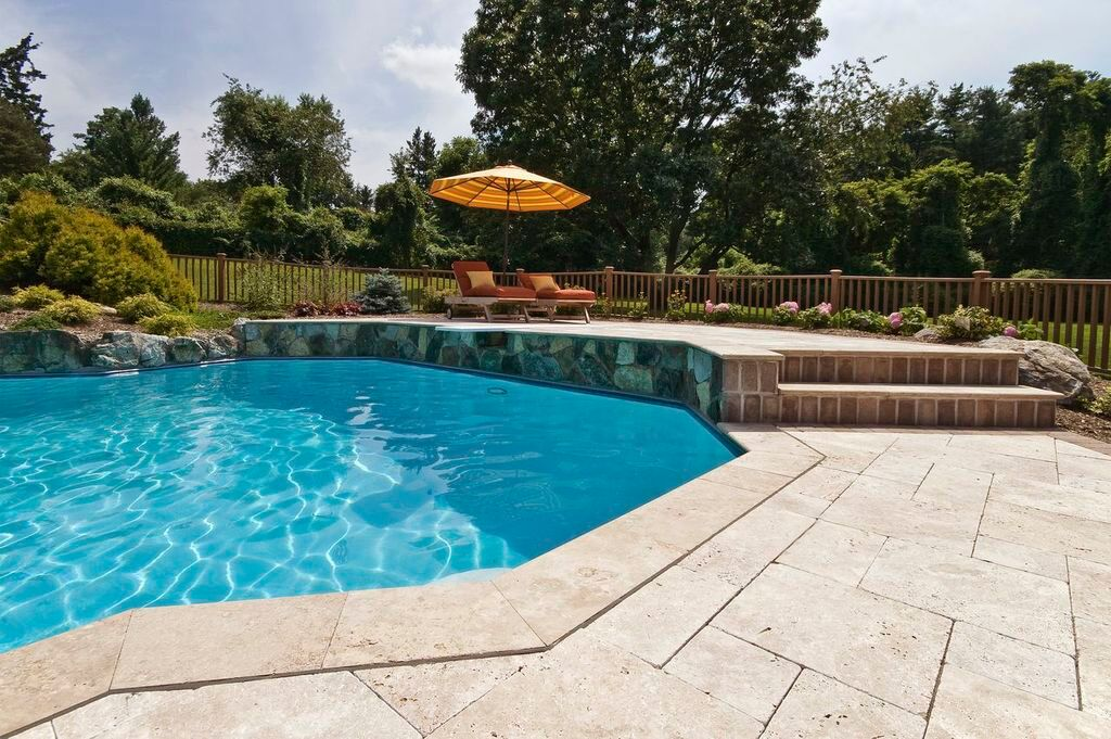 "In-ground Swimming Pool ""Hardscapes"":"