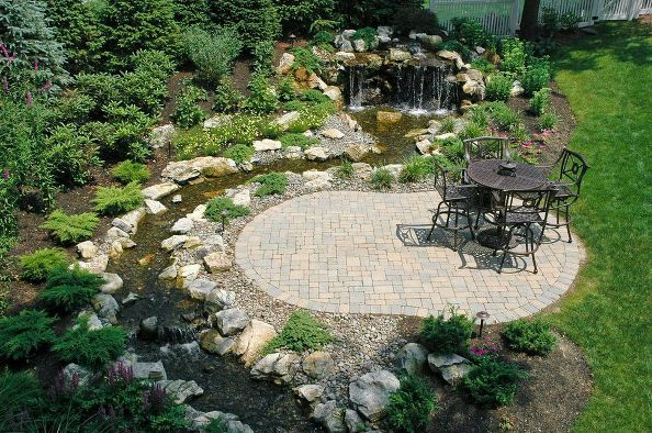 Small 'Contemplative' Patio: