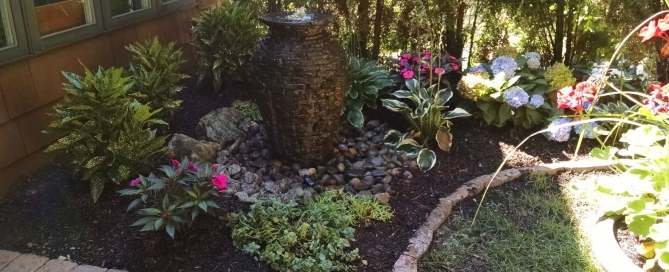 Garden Fountains: