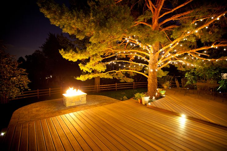 She Also Suggests The Addition Of Lights For A Cozy Winter Atmosphere If You Don T Have Any Deck Lights Built Into The Railing Just Add Christmas Holiday