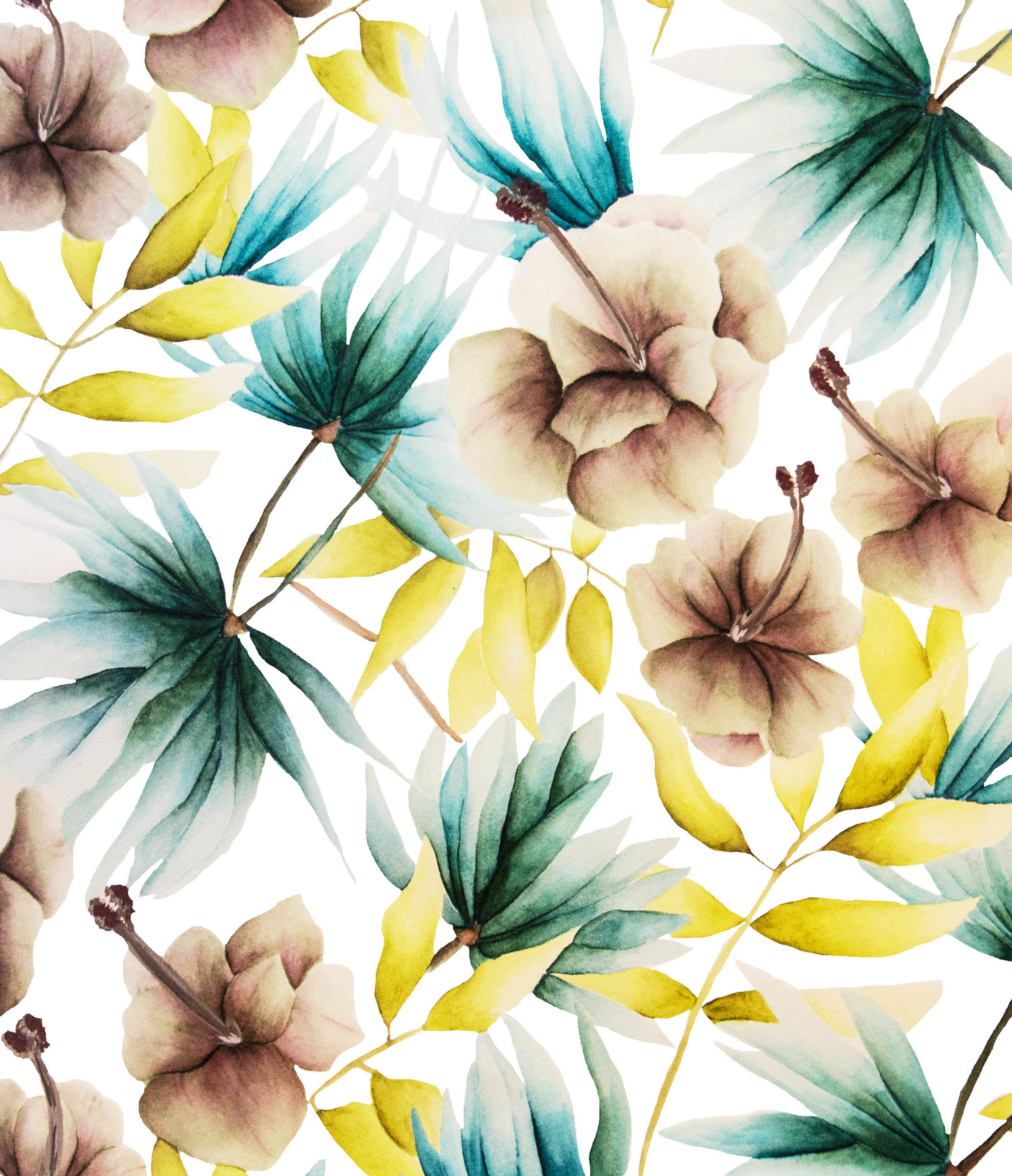 "Kaye's ""Exotic"" design for her Summer Collection includes a hint of an aquatic plant we particularly love — water lilies. ""I love putting together combination of various flowers I love, in soft, but striking, hues and shapes,"" says Kaye."
