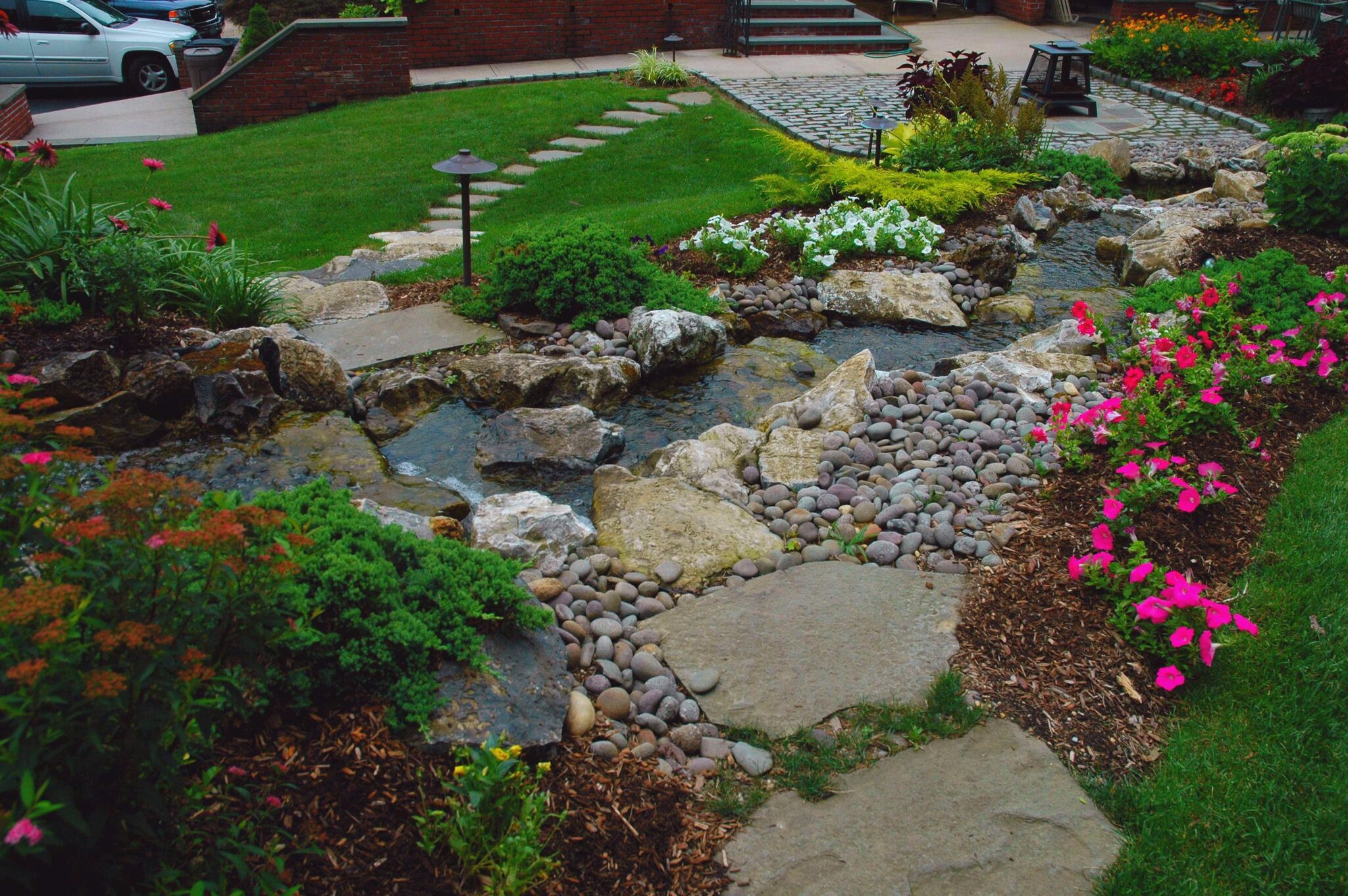 Lovely Landscaping with Rocks and Boulders