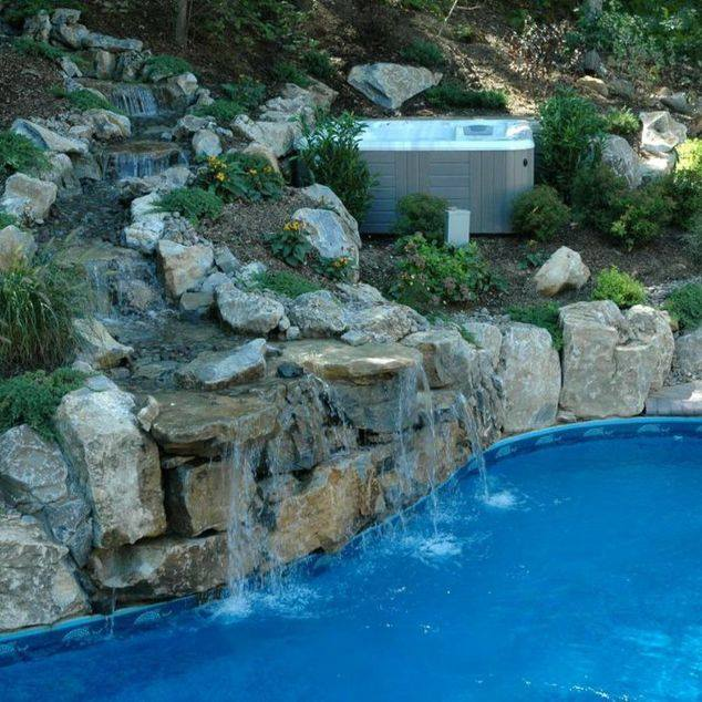Pools With Spas: