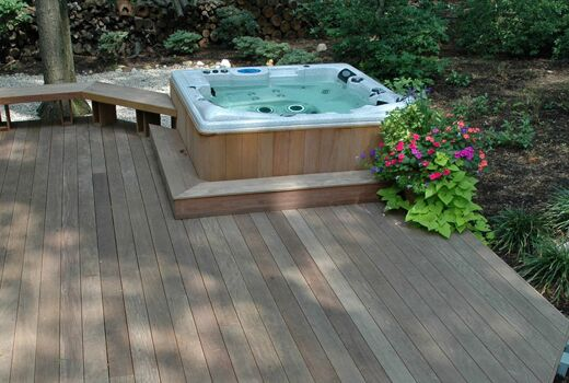 Brazilian Hardwood Decking