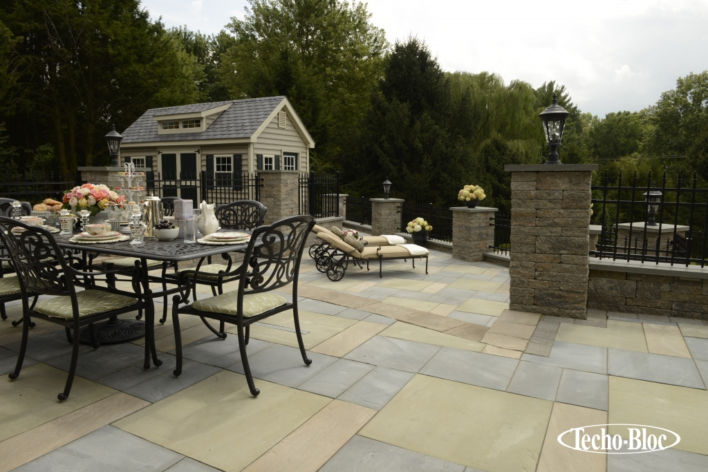 Photo Provided by Techo-Bloc