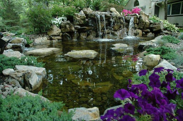 Nature lovers find backyard escapes an elixir for Stone koi pond