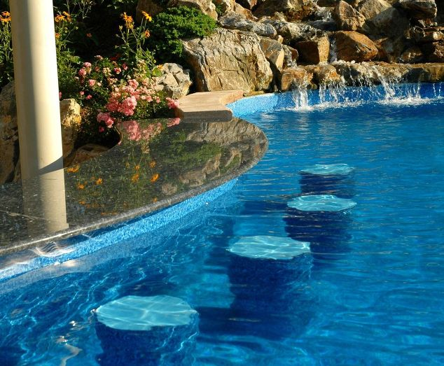 Swimming Pool Water Features: