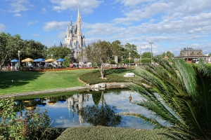 Cinderella Castle in Magic Kingdom (Walt Disney World Resort, Florida), Author: Lee Bailey from Beverley, UK