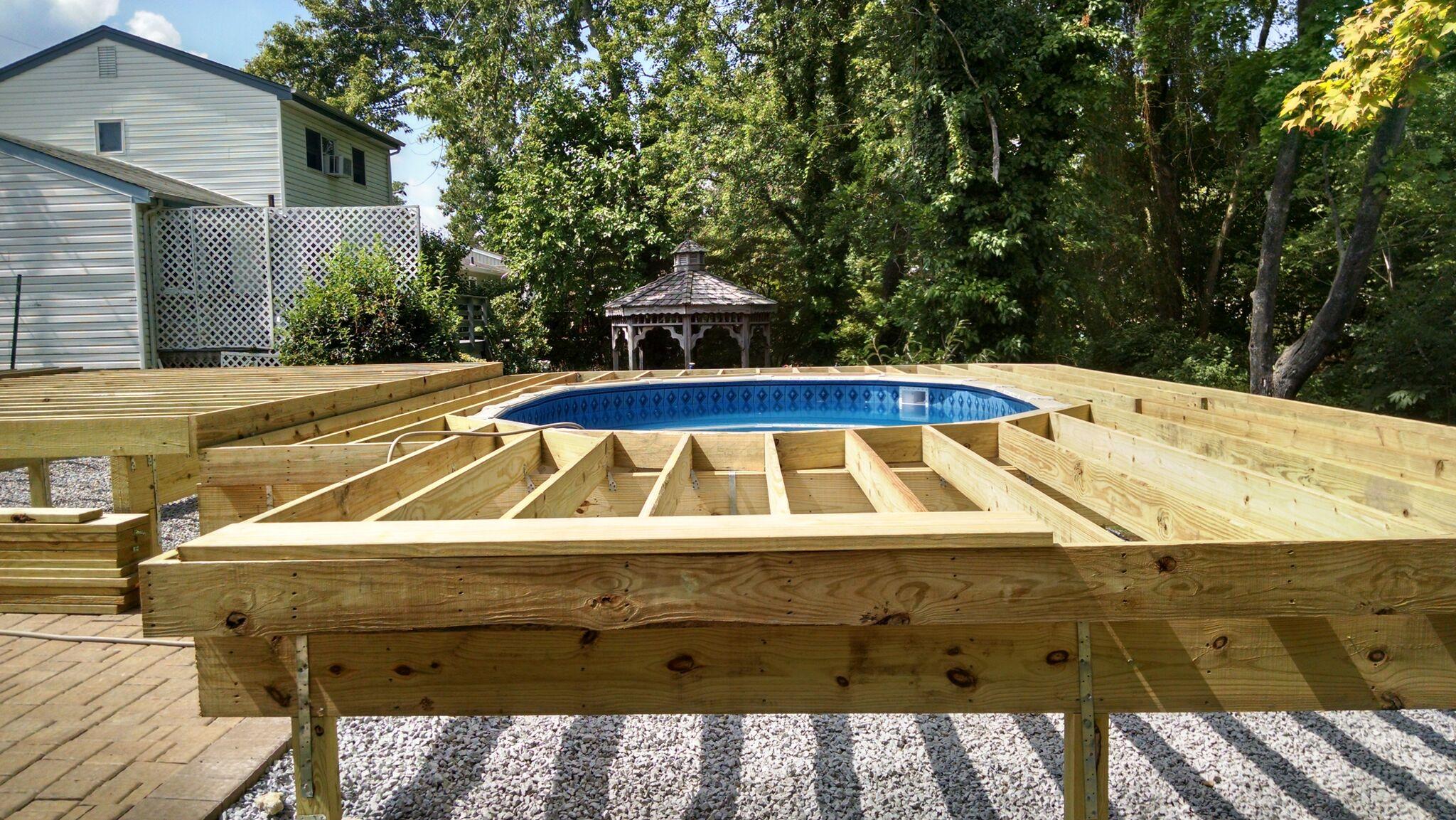 Ground Level Plexiglass Deck Railing Vertical