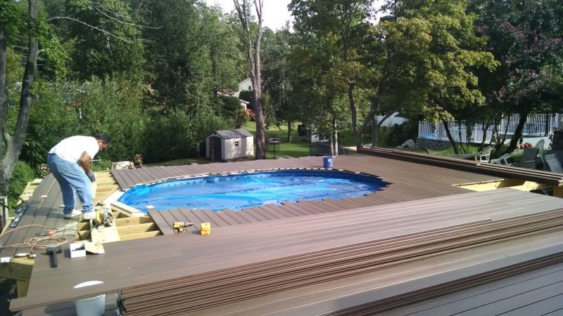 Fiberon ProTect Chestnut Decking: