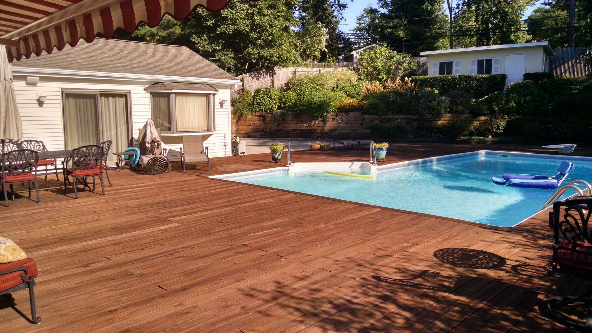 Old Pressure Treated Deck Boards: