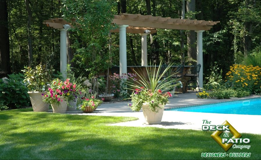 How To Plan A Landscape Garden The Deck And Patio Company