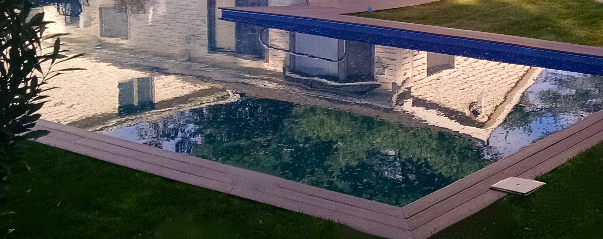 Updated Pool Surround Oyster Bay, NY:
