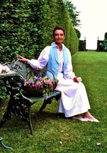 "From ""Gardens of The World with Audrey Hepburn."""