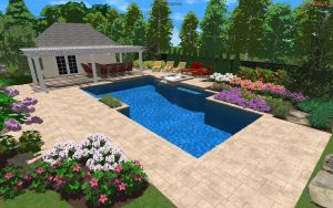 3D Landscape Design Plan