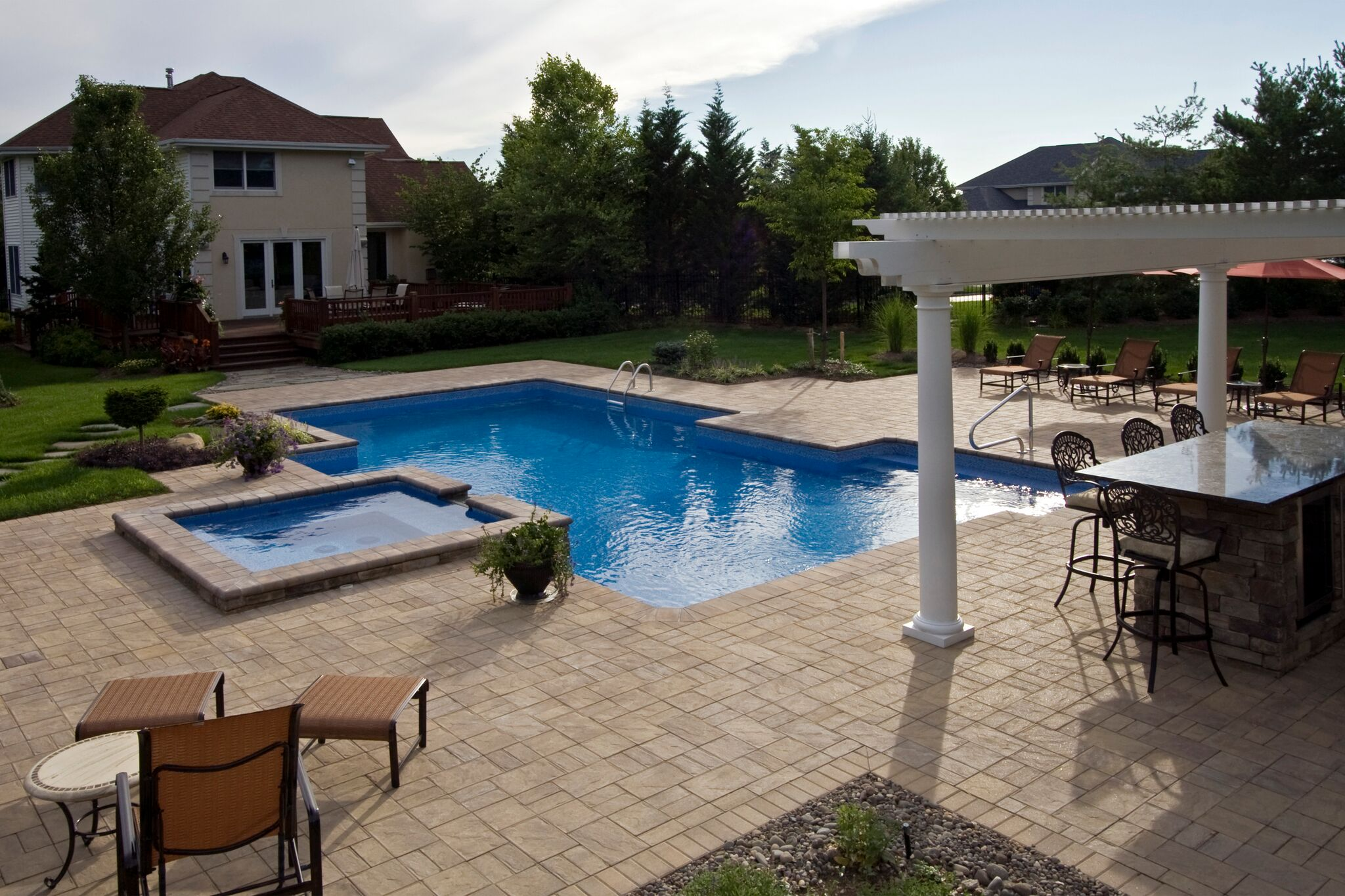 Pools spas for Pool designs under 30000
