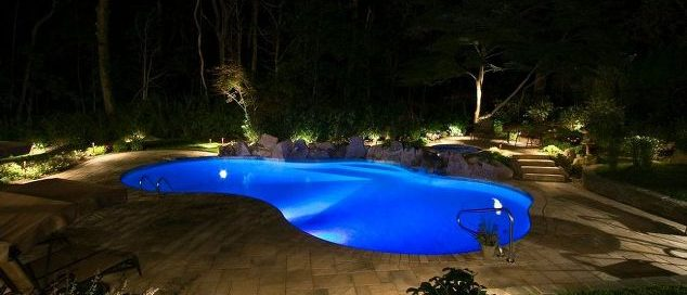 LED Lighting As Part of Backyard Upgrade (Manhasset/NY):