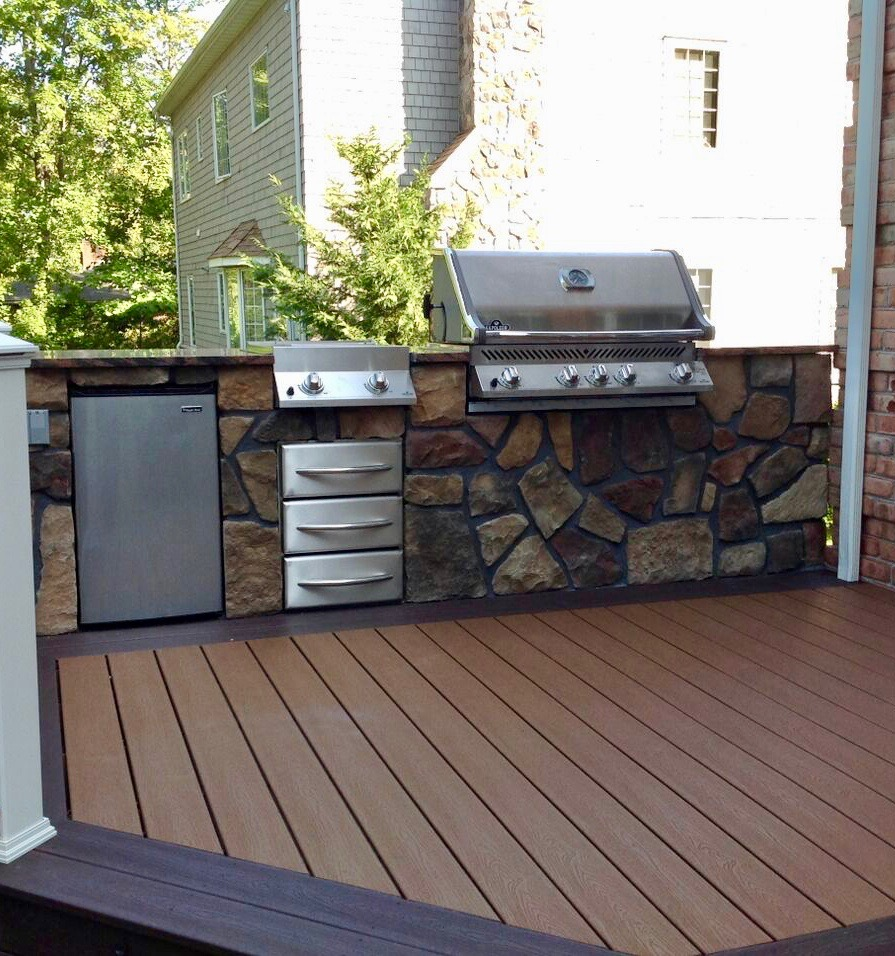 Trex decking for Outdoor composite decking