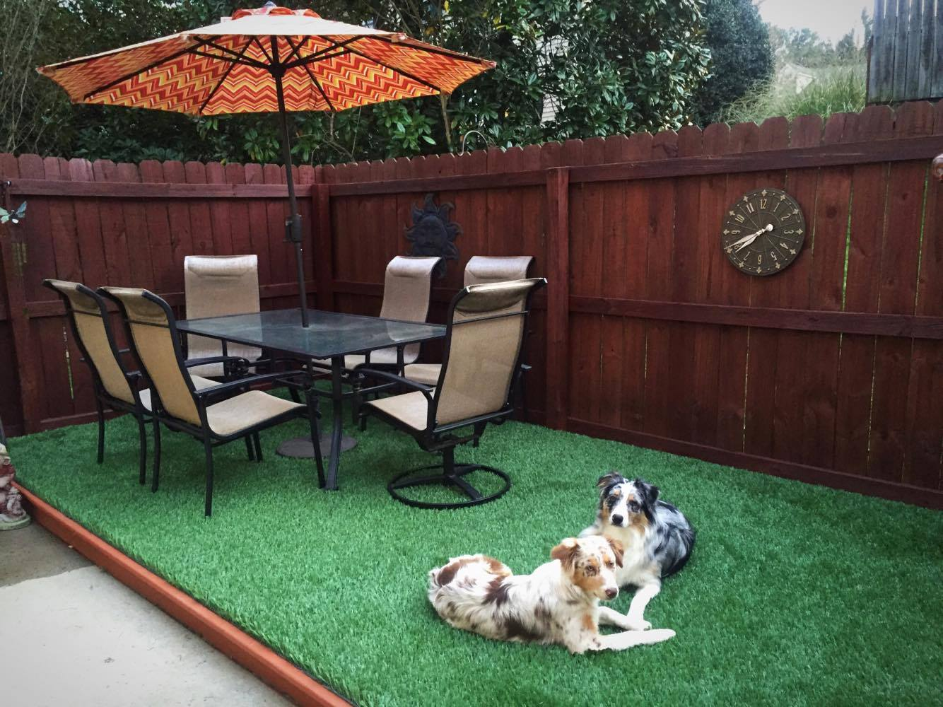 Synthetic Turf Dog Runs The Deck And Patio Company