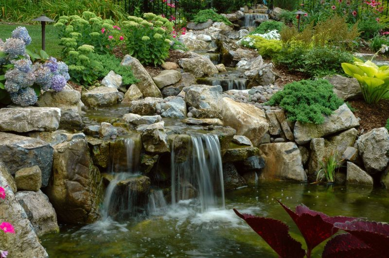 Spill Rocks for Backyard Streams: