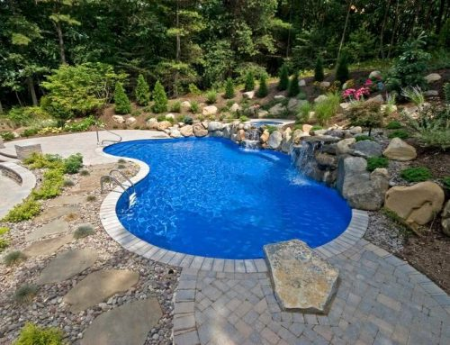 Creative Solutions: Designing Pool Wall As Part of Retaining Wall System