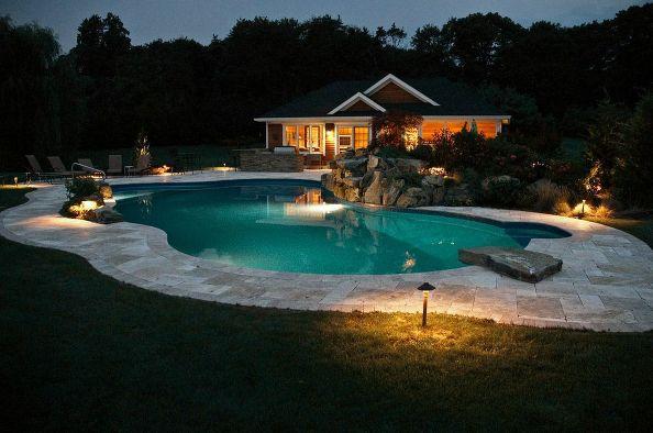 Destination Pool and Pool House (Long Island/NY):