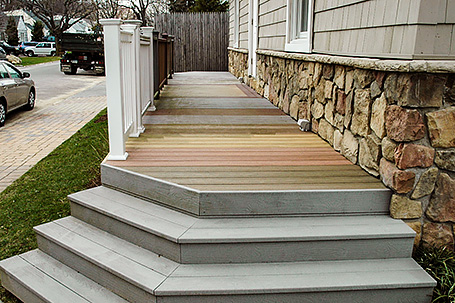 Decking Materials on Display at Deck and Patio Design Center