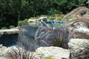 Catch Basin of Infinity Pool, Cove Neck, NY: