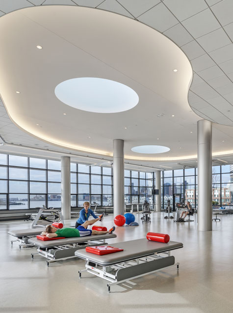 Spaulding Rehabilitation Center, Location: Charlestown MA, Architect: Perkins + Will