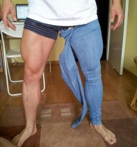 Body Builder's Favorite Jeans