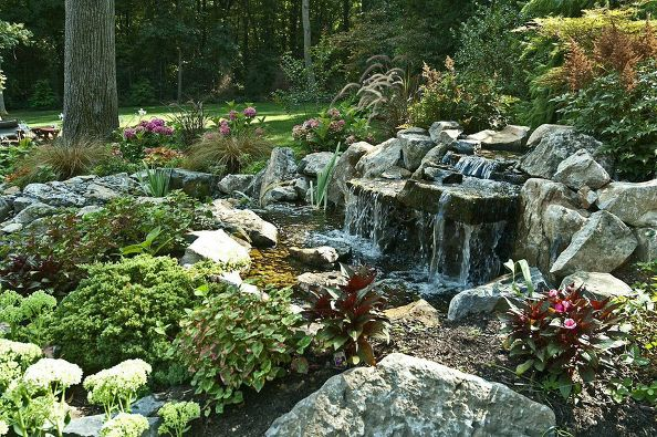 Deck and Patio Pondless Water Feature (Long Island/NY):