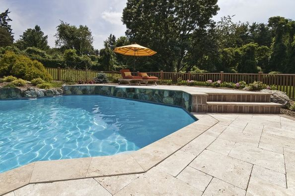 Using Travertine Outdoors: