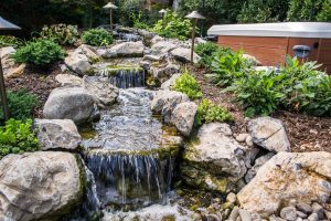 Deck and Patio Pondless Water Feature