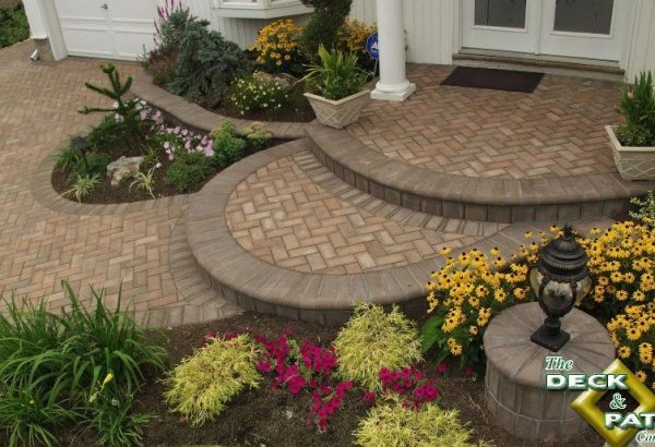 In addition to plants and shrubs, handsome and decorative hardscape can be included in crowd-sourcing wedding registries.