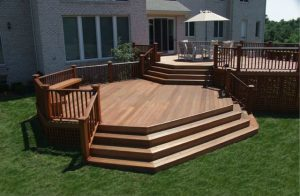 Mahogany Deck by Deck and Patio