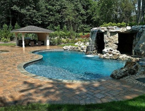 Inviting Pool Amenity: Hidden Grotto with Dramatic Waterfall