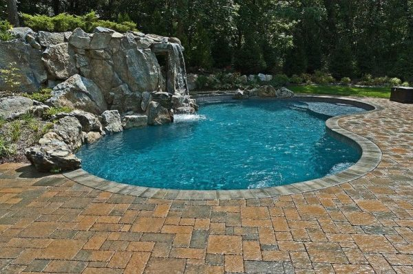 Techo-Bloc Pool Patio:
