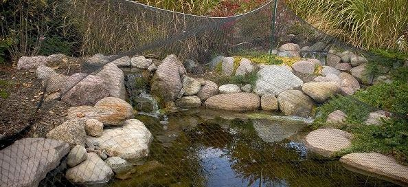 Installing Pond Netting: