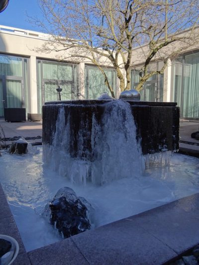 Business Complex Water Feature: