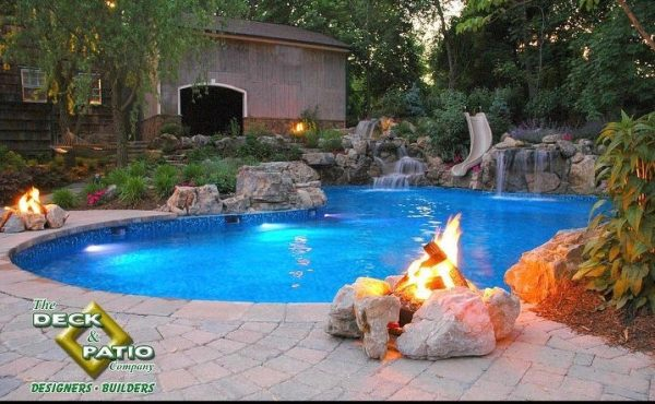 Using Rocks for Outdoor Living Design (Long Island/NY):