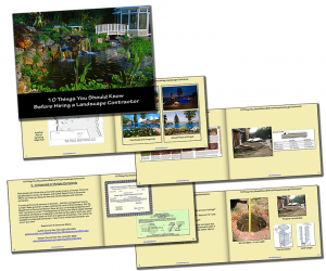 Hiring a Landscaping Contractor Booklet