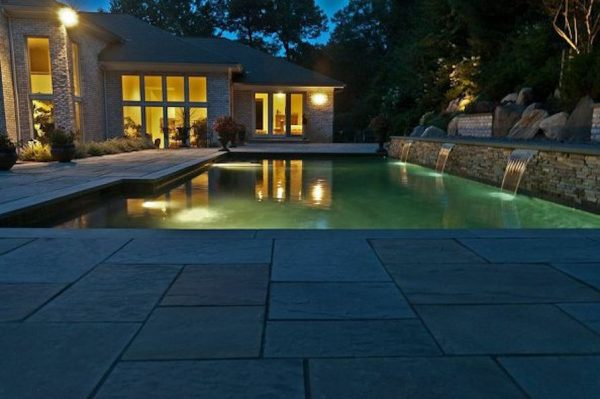 Geometric Gunite Pool (Oyster Bay Cove/NY):