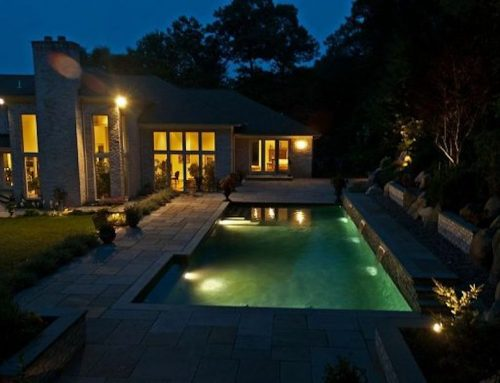 Changing a Liner Pool to Gunite Is Perfect Time for Backyard Haven